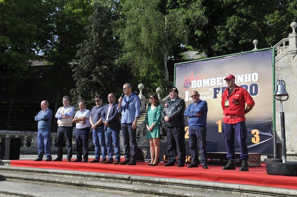 Lamego acolheu o 1º Campeonato Nacional Bombeirinho de Ferro
