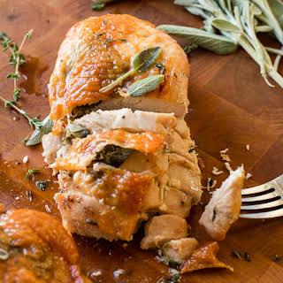 Herb Roasted Turkey Breast.