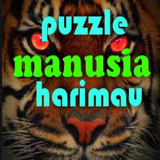 Photo Puzzle Manusia Harimau
