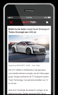 Autotijd.be- screenshot thumbnail