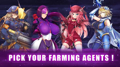 Idle Space Farmer - Waifu Manager Simulator screenshots 1