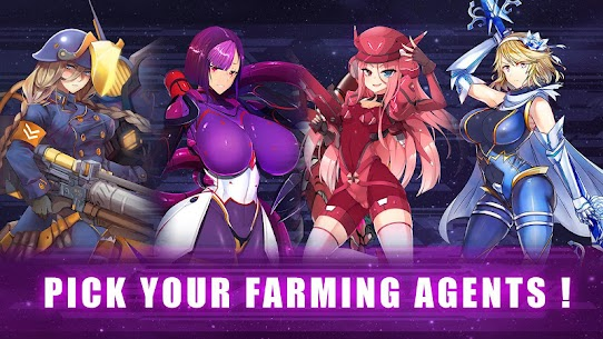 Idle Space Farmer – Waifu Manager Simulator MOD (Unlimited Money) 1