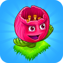 Blooming Flowers : Merge Flowers : Idle Game icon