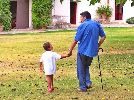 Con il nonno di rosarionotaro@gmail.com