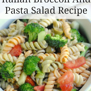 Italian Broccoli and Pasta Salad