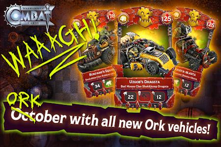 Warhammer Combat Cards - 40K Edition Card Battle 28.3