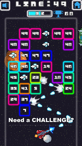 Space Blast Block Attack android2mod screenshots 5