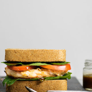 Chicken Sandwich With Balsamic & Olive Oil Dressing