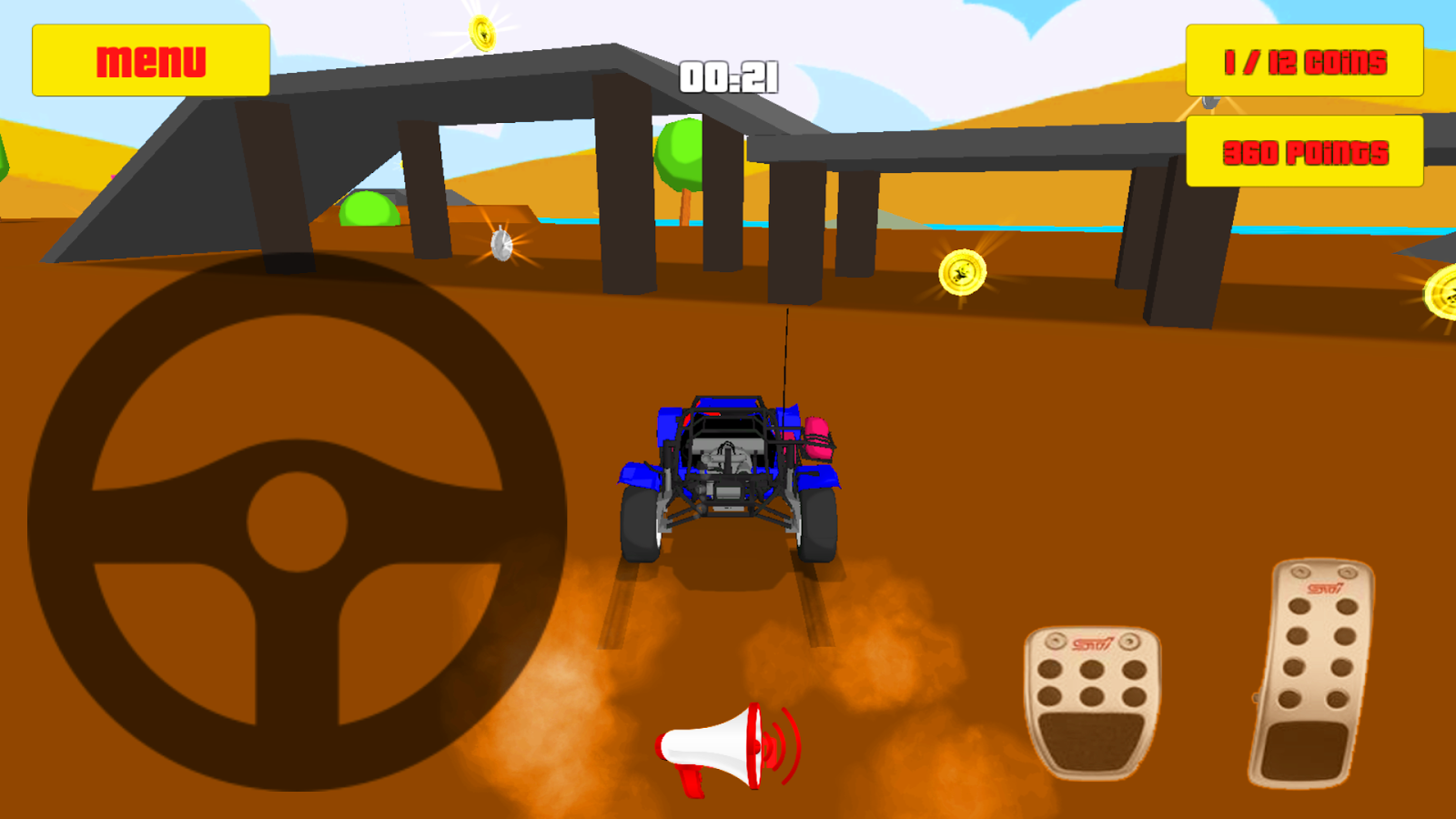 Baby car fun 3d racing game android apps on google play for Play motor racing games