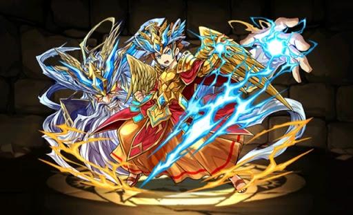 超覚醒ゼウスのアーマーX龍喚士・エース