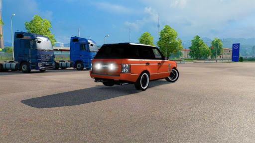 Luxury Prado Jeep Spooky Stunt Parking Range Rover screenshots 2