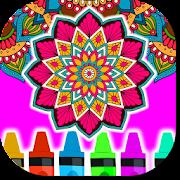 Coloring Mandalas of Flowers