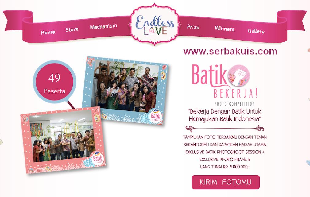 Kontes Foto Batik Bekerja Berhadiah Uang Tunai 9 Juta Rupiah