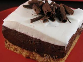 Loaf Pan Chocolate Cheese Cake Recipe