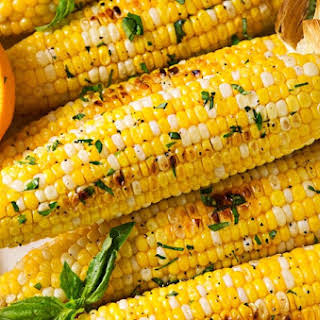 Oven Roasted Corn on the Cob.