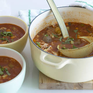 Hearty Minestrone with Orzo.