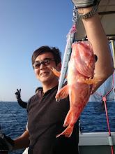 Photo: アヤメちゃん。 ・・・反応の魚じゃないと思うけど。