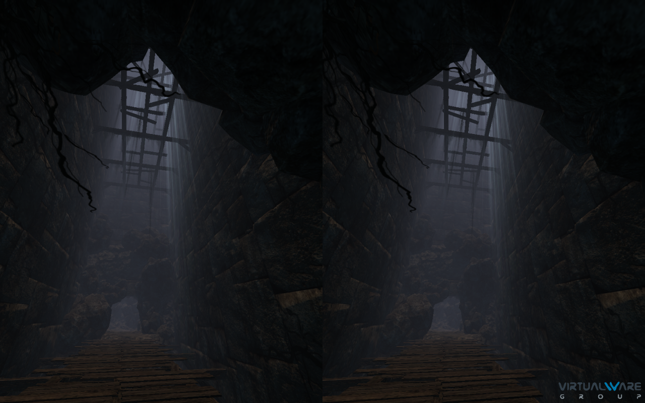 Screenshots of VR Cave for iPhone