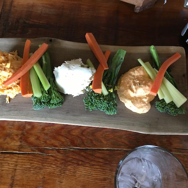 Cheese spread board