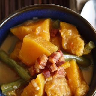 Squash and Green Beans in Coconut Milk (Kalabasa at Sitaw sa Gata)