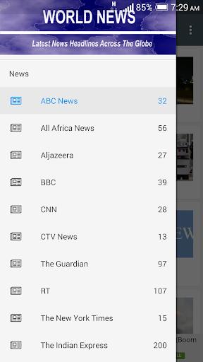World News  screenshots 1