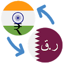 Indian rupee Qatari riyal / INR to QAR Converter icon