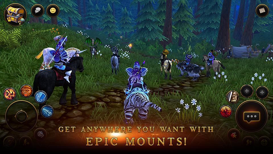 3D MMO Villagers & Heroes- screenshot