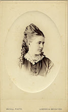 Photo: Wallace's wife Anne in c. 1866. The image is in carte de visite format. Photographer: Mayall. First published by the A. R. Wallace Memorial Fund  & G. W. Beccaloni in 2010. Scanned with permission from the original owned by the Wallace family. Copyright of scan and owner of Publication Right: A. R. Wallace Memorial Fund & G. W. Beccaloni.