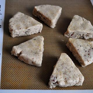 Gluten Free Cinnamon Pecan Scones