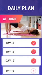 Lose Belly Fat at Home - Lose Weight Flat Stomach Screenshot