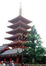 Photo: Tokio - pięciopiętrowa pagoda w Asakusa / Tokyo - five-stored pagoda in Asakusa