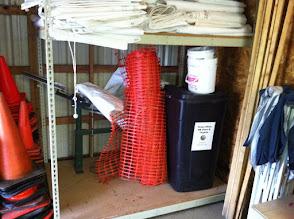 Photo: Archery in Brosig QM storage