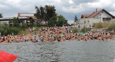Photo: Über 500 Schwimmer am Start in Pfelling