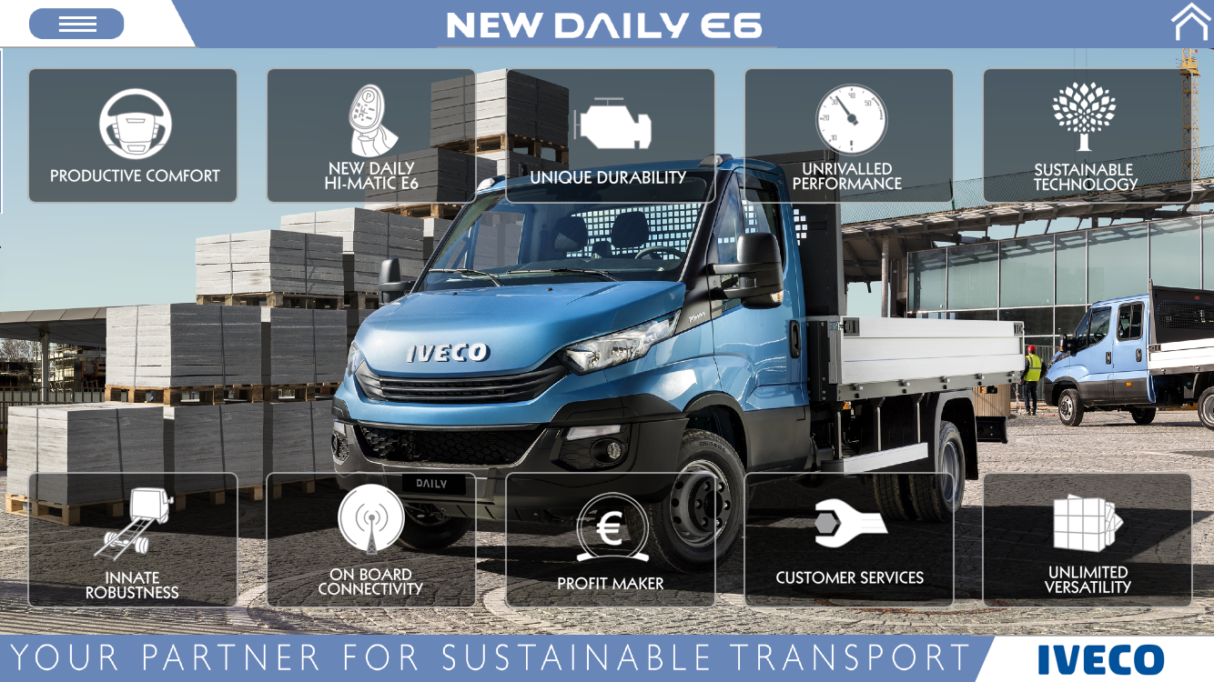 IVECO NEW DAILY E6 phones- screenshot