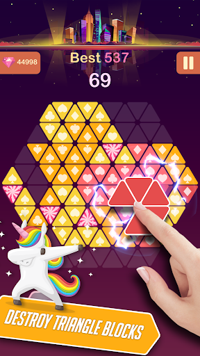 Triangle Candy - Block Puzzle 1.2 {cheat|hack|gameplay|apk mod|resources generator} 3