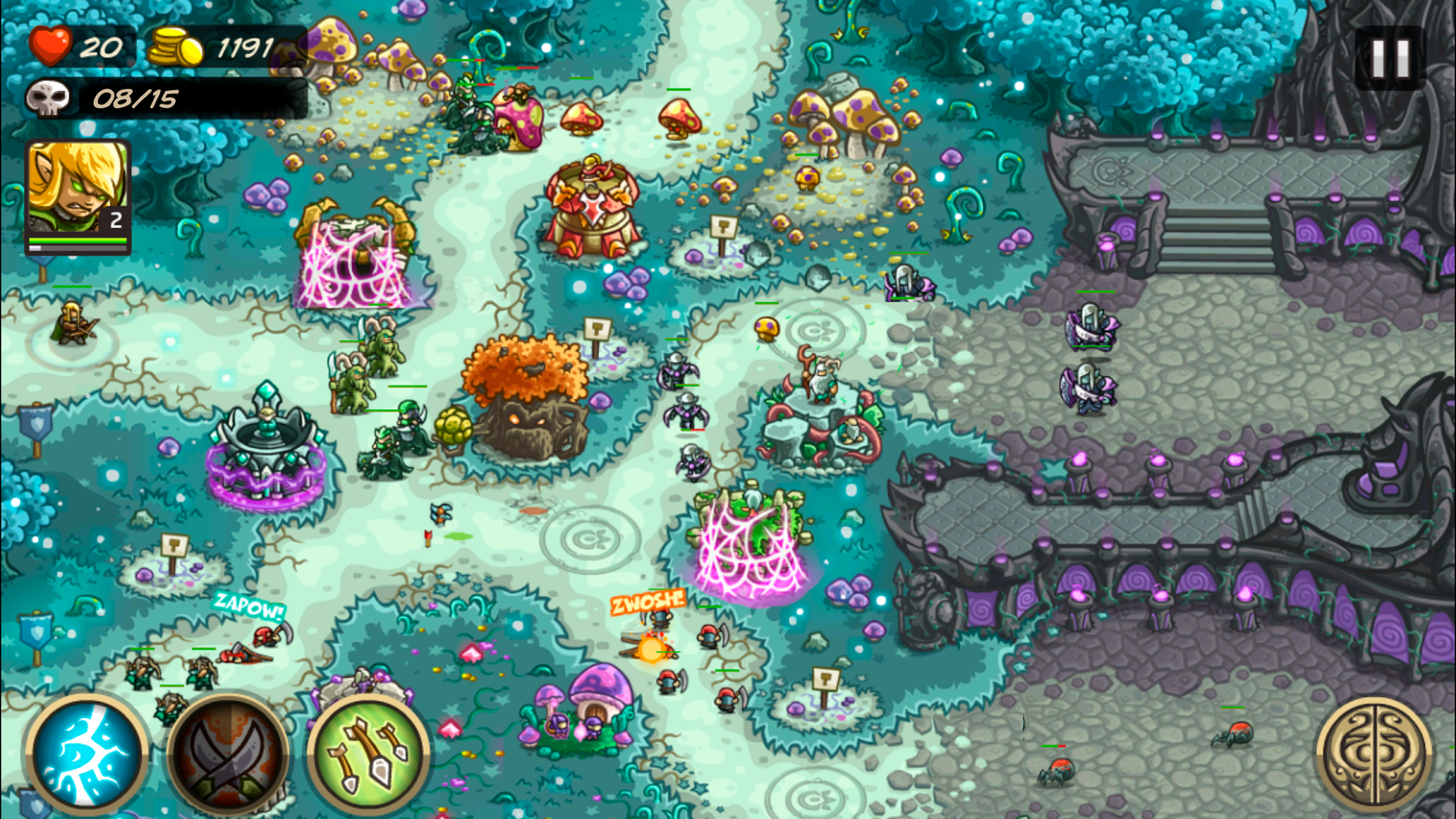 Kingdom Rush Origins- screenshot