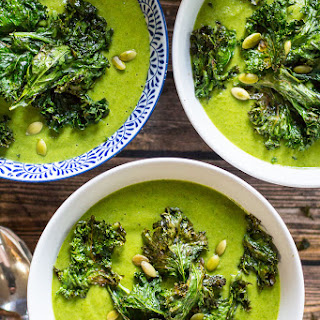 Green Goddess Vegan Broccoli Soup