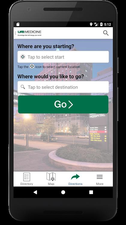 UAB Medicine Wayfinder – (Android Apper) — AppAgg