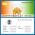 Driving License Online icon