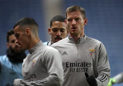 "Jan Vertonghen avant Standard-Benfica : ""Remporter l'Europa League est un objectif"""