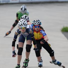 who'll be the first by Nick Vanderperre - Sports & Fitness Other Sports ( de korrel nog, 2018, zemst, skeeleren,  )
