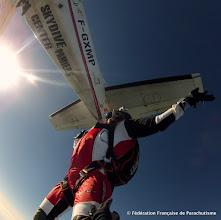 Photo: Sortie Face moteur @ Skydive Pamiers
