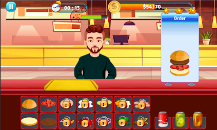 Burger Shop Crush APK screenshot thumbnail 7