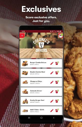 KFC - Order On The Go 20.3.1 Screenshots 1