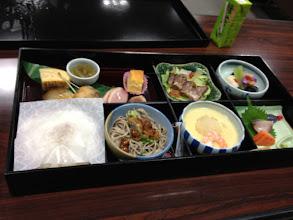Photo: 総会のお弁当が余ったとかでいただきました♪