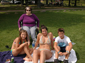 Photo: A family enjoying the day at Crystal Lake State Park