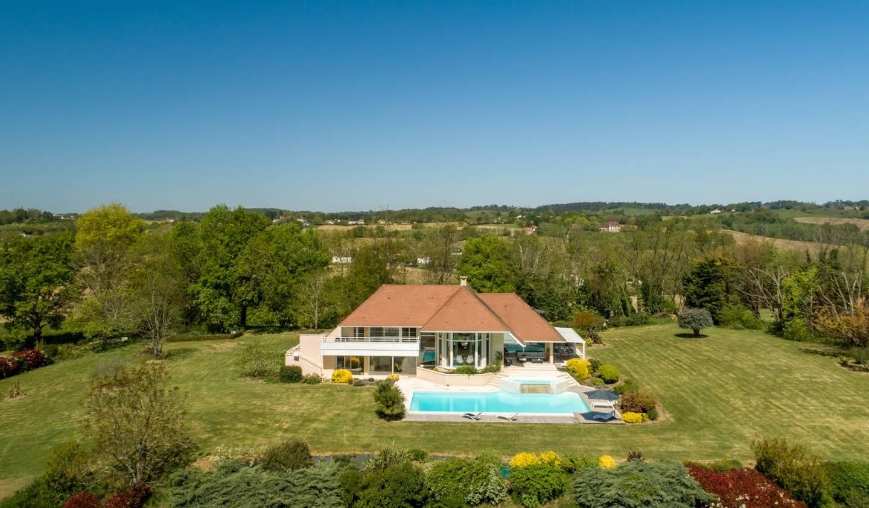 Villa avec piscine et terrasse Orthez