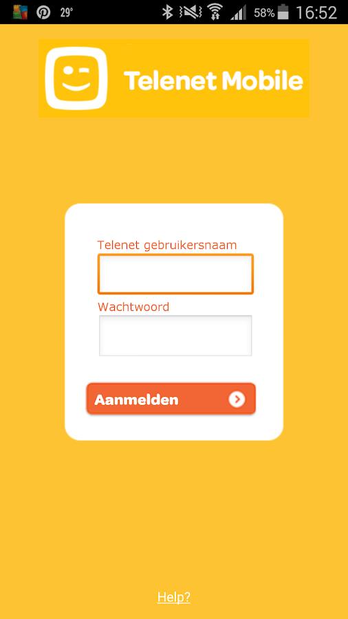 TelenetMobile- screenshot