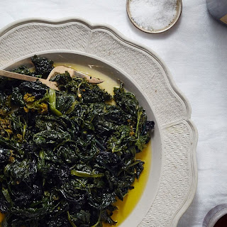 Slow-Cooked Garlicky Greens recipe | Epicurious.com.