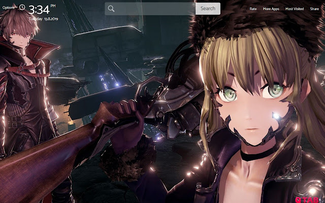 Code Vein Wallpapers Hd Theme